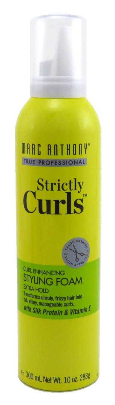 Marc Anthony Strictly Curls Styling Foam 10 Ounce (295ml) (6 Pack)