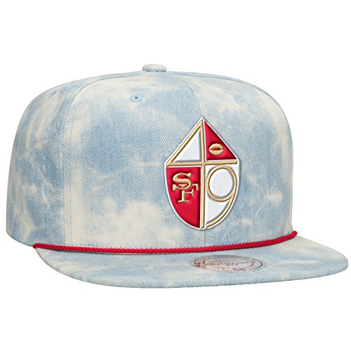 90e092ce6 San Francisco 49ers Acid Wash Denim Hat – Football Theme Hats