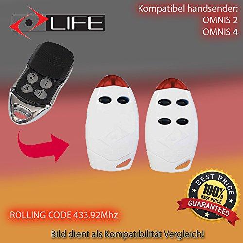 4-channel Life FIDO4 100/% Original remote Control 433,92Mhz rolling code!!