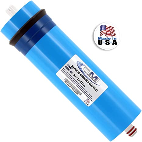 Under Sink Filtration200//300//400G RO Membrane Water Filter w//Housing 3//8 Fitting