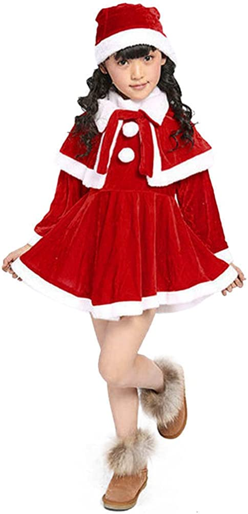 Fossen Fossen 3-12 años Niña Ropa de Navidad Disfraz Vestidos de ...