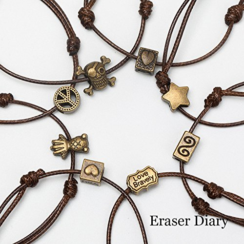 (Creative handmade jewelry accessories material all-alloy ornaments serpentine female bracelet rope bracelet)