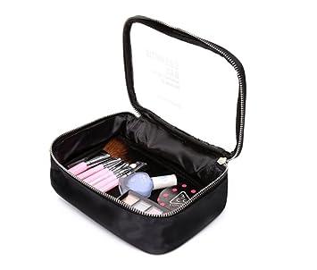 Amazon.com: hoyofo con cierre bolsas de maquillaje viaje ...
