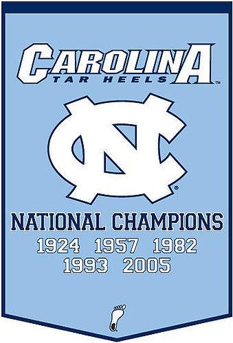(North Carolina Tar Heels Dynasty Banner - NCAA Licensed - North Carolina Tar Heels Collectibles)