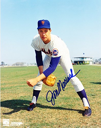 JON MATLACK SIGNED 8x10 COOPERSTOWN PHOTO FILE NEW YORK METS NY TEXAS RANGERS