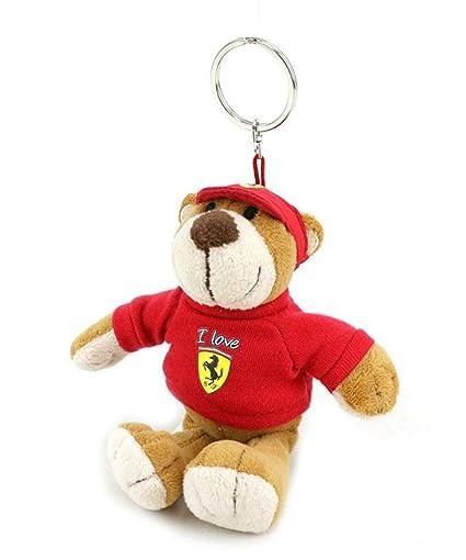 Amazon.com: Ferrari oso de peluche, oso de peluche, F1 ...