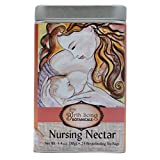 Birth Song Botanicals Nursing Nectar Best Breastfeeding Tea with Fenugreek & Chamomile, 24 Servings in a Tin Canister