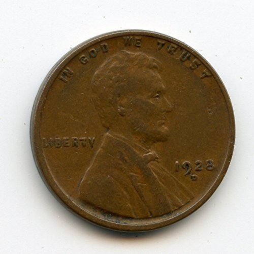 1928 D Lincoln Cent XF-40