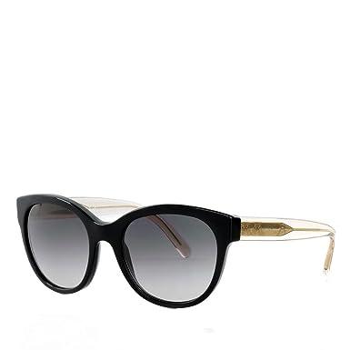 fe1f7edbff91 Burberry Women's 0BE4187 35078G 54 Sunglasses, Black/Gradient