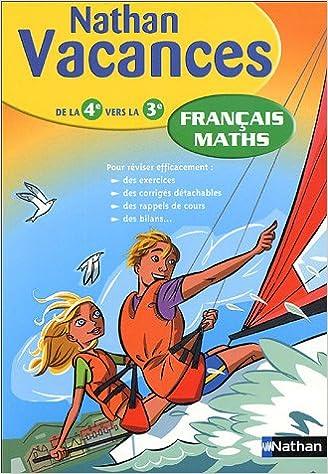 Livre Français Maths : De la 4e vers la 3e epub pdf