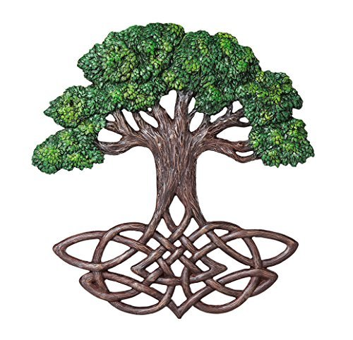 (Pacific Giftware Celtic Tree of Life Knotwork Decorative Wall Plaque 13 Inch Tall)