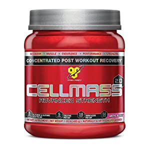 BSN CELLMASS 2.0 Arctic Berry, 1.09 lb (50 Servings)