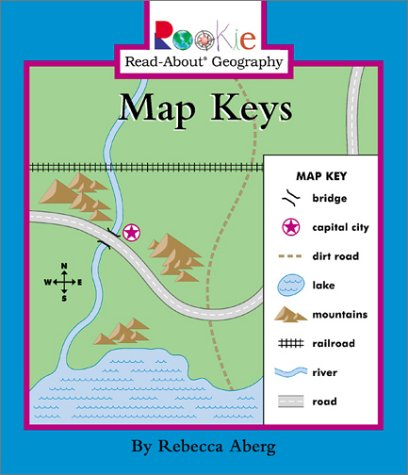 Amazoncom Map Keys Rookie ReadAbout Geography - Geography map for kids