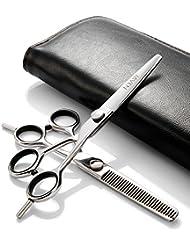 Professional Hair Cutting Scissors Set,Japanese 6 Inch...