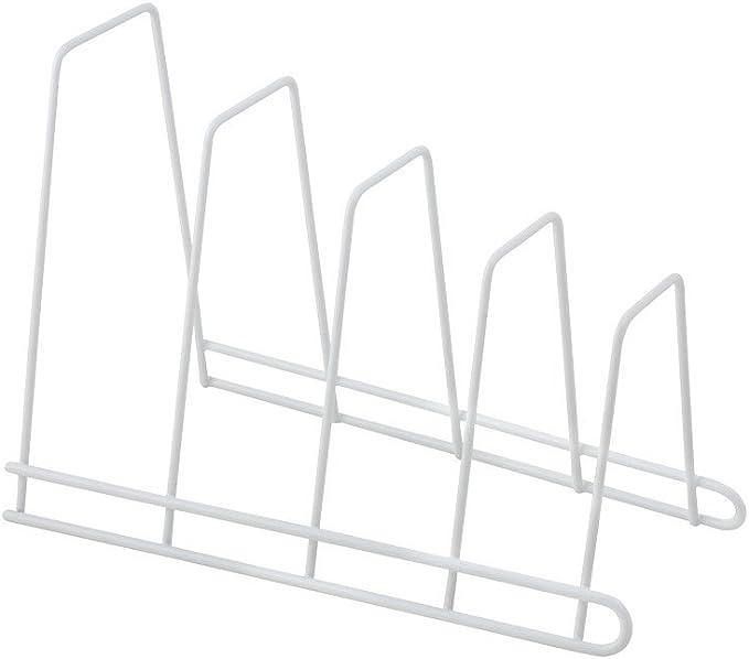 Servierplatten etc Halterung f/ür 4 Schneidebretter Metaltex 360204
