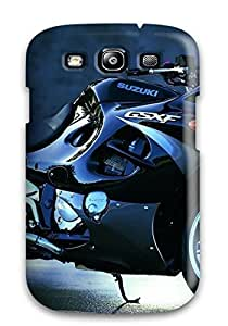 Hot Tpu Cover Case For Galaxy/ S3 Case Cover Skin - Motorcycle