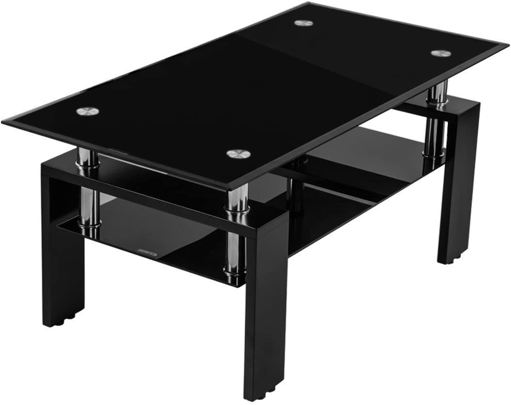 OSJ(オーエスジェイ)ガラス天板リビングテーブル