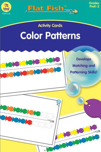 Buy ideal school supply color patterns activity cards