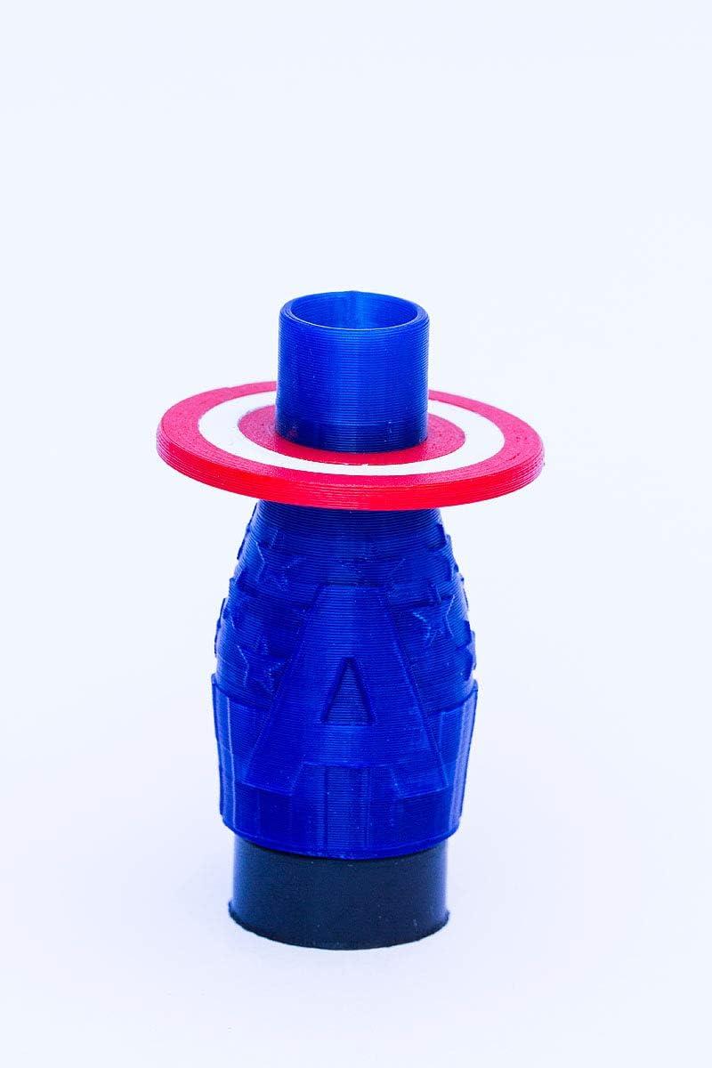 FumandoEspero Boquilla 3D Sapiens para Shisha o cachimba - Capitán América
