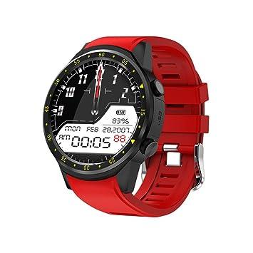 HHJEKLL Pulsera Inteligente Bluetooth Sport Smart Watch con cámara ...