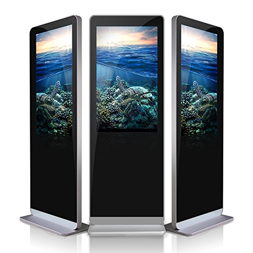- 55inch Floor Standing LCD Advertising Display Digital Signage Player