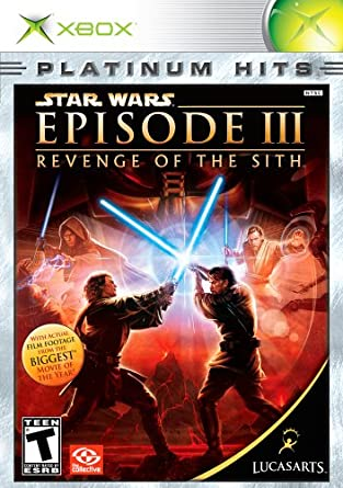 Amazon Com Star Wars Episode Iii Revenge Of The Sith Xbox Artist Not Provided Video Games