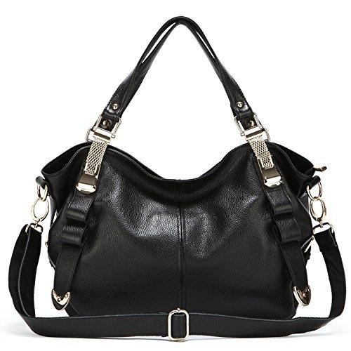 GUANGMING77 Big Bags Handtaschen Handtaschen Weiblichen Diagonale Umhängetasche Midnight Black