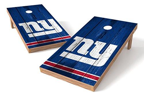 PROLINE NFL New York Giants 2'x4' Cornhole Board Set - Vintage Design