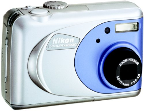 Nikon Coolpix 2000 2MP Digital Camera w/ 3x Optical Zoom (Coolpix Nikon Megapixels 2)