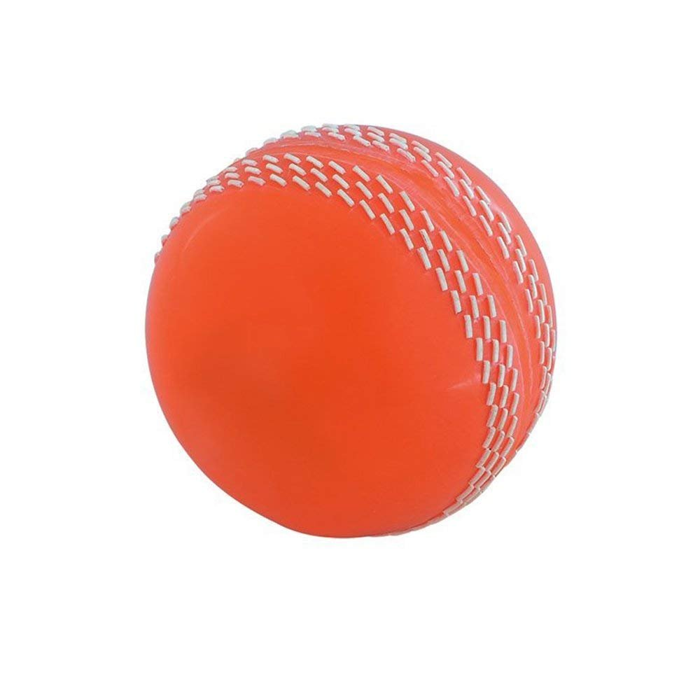 Kosma Cricket bola suave Poly| PVC blando Cricket Ball (1 bola blanca) Montstar Global
