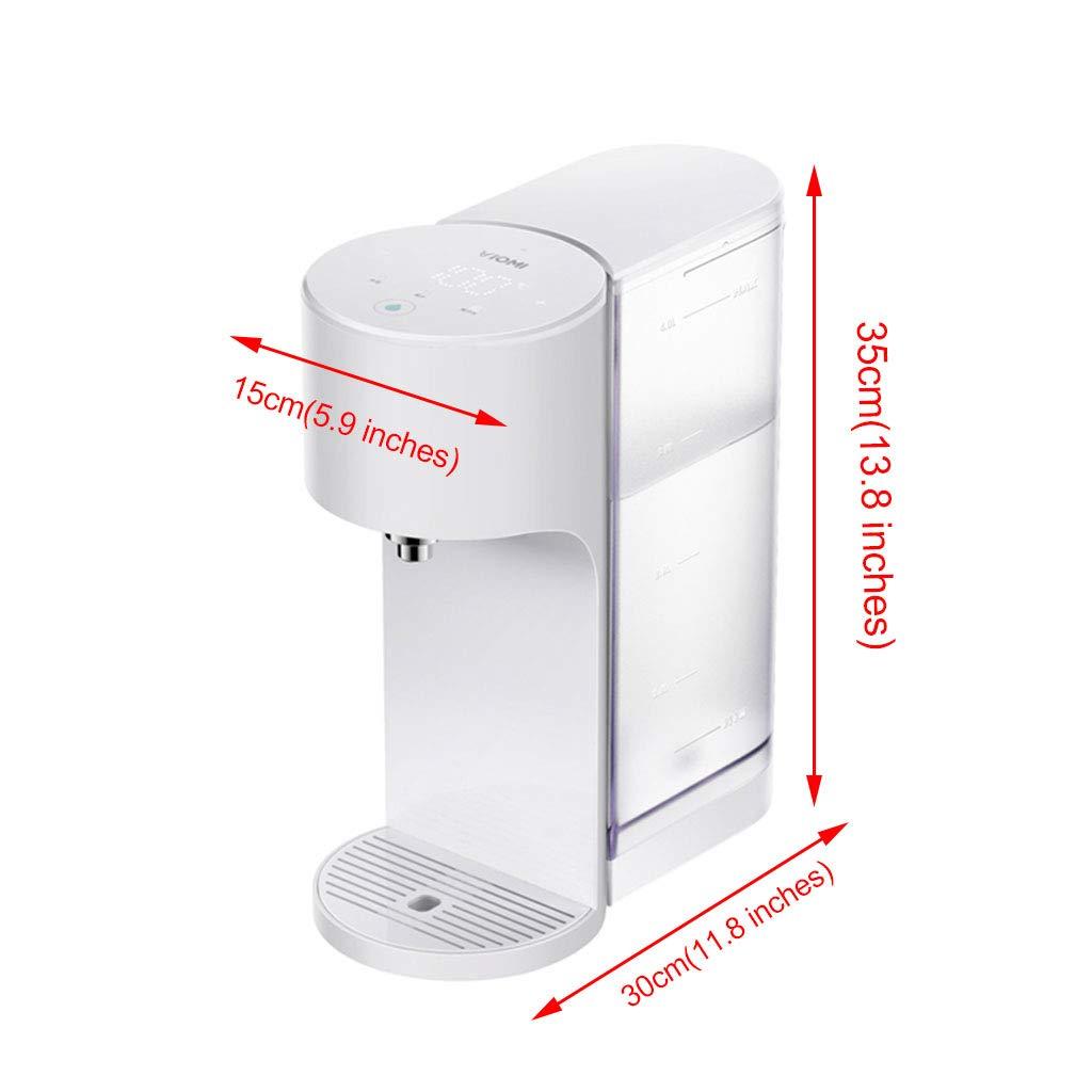 Dispensadores de agua caliente Hervidores Uso doméstico Dispensador de Agua para el hogar Mini sobremesa para la Oficina Caldera elé: Amazon.es