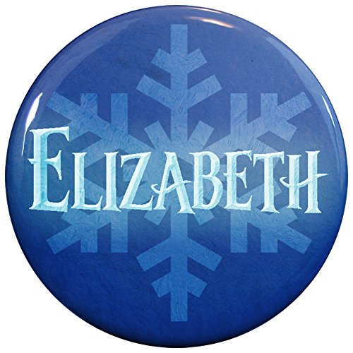 Queen Elizabeth Movie Costumes (Buttonsmith® Elizabeth Winter Ice Name Tag)