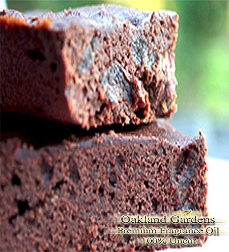 FUDGE BROWNIE Fragrance Oil - Rich, tempting dark chocolate fudge with milk chocolate and walnuts - By Oakland Gardens
