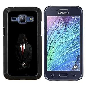 TECHCASE---Cubierta de la caja de protección para la piel dura ** Samsung Galaxy J1 J100 ** --Darth Anónimo Rebel Señor