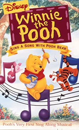 Amazon Com Winnie The Pooh Sing A Song With Pooh Bear Vhs