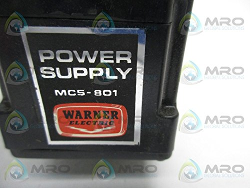 WARNER ELECTRIC MCS-801 POWER SUPPLY *NEW IN A BOX* by Warner Manufacturing (Image #3)