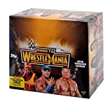 (US) 2015 Topps WWE Road To WrestleMania Trading Cards HOBBY Box - 24 packs / 7 cards