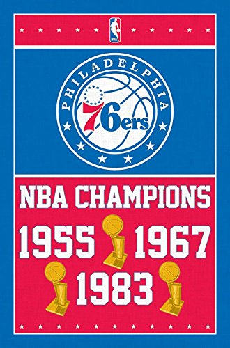 Trends International Philadelphia 76ers Champions Wall Poster