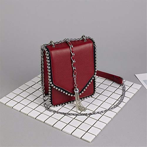 Koreaanse van zwart rood Bag de Fairy zomer Saoga Messenger Marea versie Messenger tpRR54x