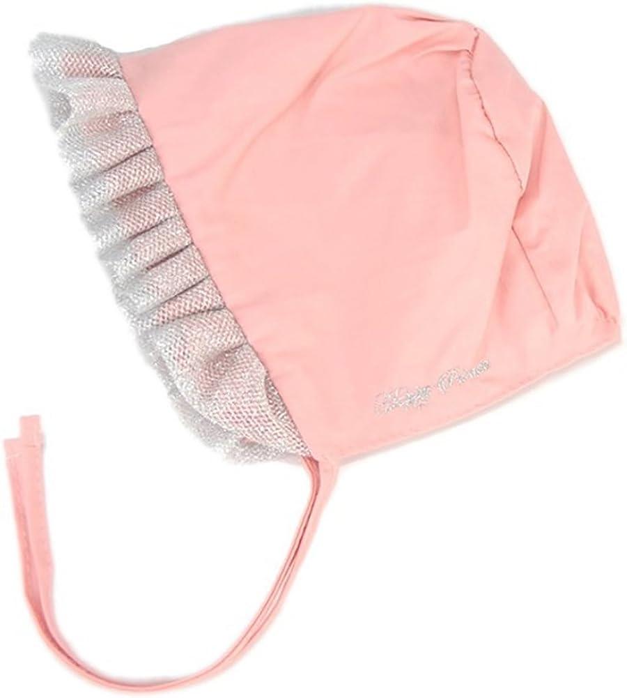 INFANT BABY GIRL LACE RIM HAT STRAPS TIE COTTON CAP HEADWEAR WARM KEEPER NICE