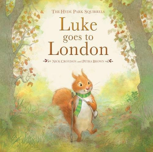 Luke Goes to London (Hyde Park Squirrels)