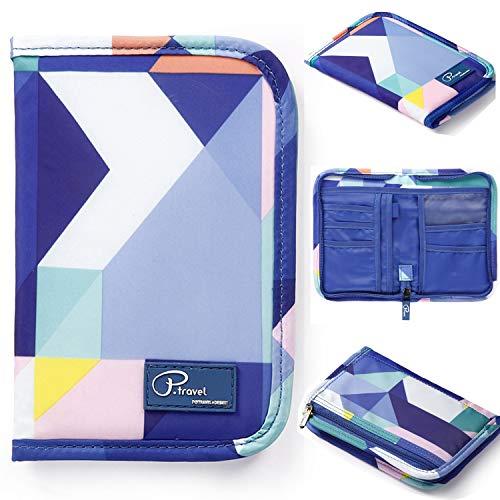 Passport Wallet Holder for Men&Women,RFID Blocking Travel Waterproof Credit Card&Money Bag