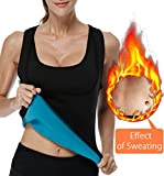 Neoprene Vest Sauna Top Hot Body Shaper Hot Sweat Women Weight Loss Compression, Black, XL= US 10 For Sale