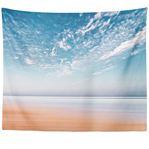 Westlake Art Wall Hanging Tapestry - Coast Beach - Photography Home Decor Living Room - 51x60in - Abbey Dawn Collection