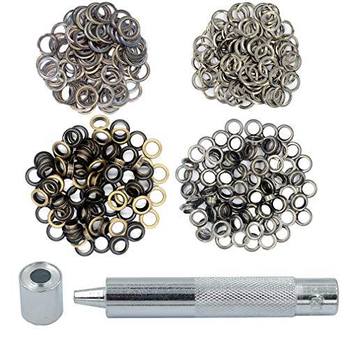 Gunmetal Grommets - DGOL 200 Packs 5/16