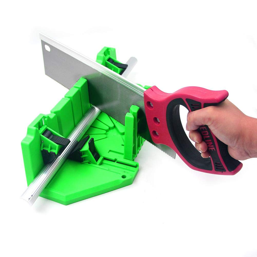 kioski Carpinter/ía Herramienta de Corte Protectora ABS Pl/ástico Sierra Caja del gabinete Caja de ingletes