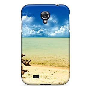 High-quality Durable Protection Case For Galaxy S4(a Day At The Beach)