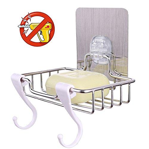 HOMEDEN Soap Dish Tray Case Bar Holder For Shower Soap Saver