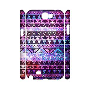 Aztec Tribal Pattern Personalized 3D Cover Case for Samsung Galaxy Note 2 N7100,customized phone case ygtg537893