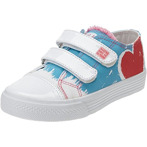 Agatha Ruiz de la Prada 152924 Sunny Lollipop Blue Textile 29 EU/12/12.5 M US Little - Kids Prada Shoes